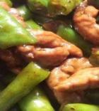 香炒杭椒牛柳的做法