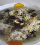 双耳蛤蜊鸡蛋汤的做法