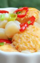 干贝日本豆腐的做法
