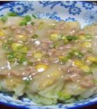 虾肉白菜卷的做法