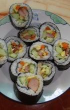 自制紫菜寿司的做法