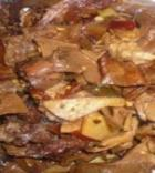 牛肉炖干笋的做法