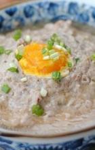 咸蛋黄蒸肉饼的做法