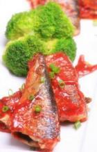 茄汁秋刀鱼的做法