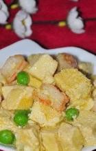 冻豆腐溜虾仁的做法