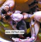 芡实薏米煮牛蛙的做法