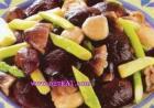 炒笋菇的做法