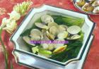 车螺芥菜汤的做法
