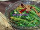 干锅油麦菜_干锅油麦菜的做法_图解干锅油麦菜怎么做,如何做