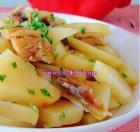 咸鱼蒸土豆的做法