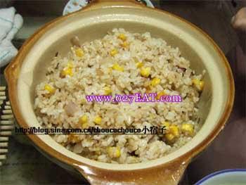 肉汁炒米饭_肉汁炒米饭的做法_图解肉汁炒米饭怎么做,如何做