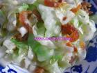 虾米拌圆白菜的做法