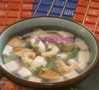 虾米米酒汤的做法