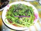 蒜香苋菜的做法
