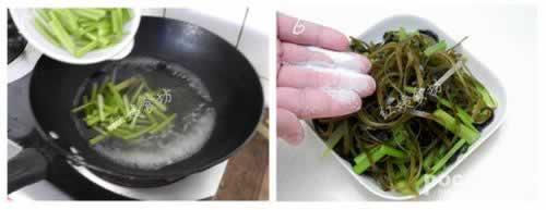 凉拌芹菜海带的做法