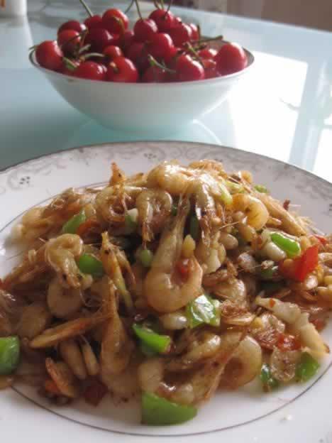 小炒河虾的做法