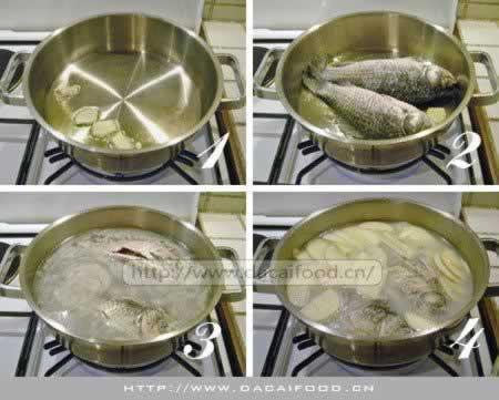 苹果鲫鱼汤的做法