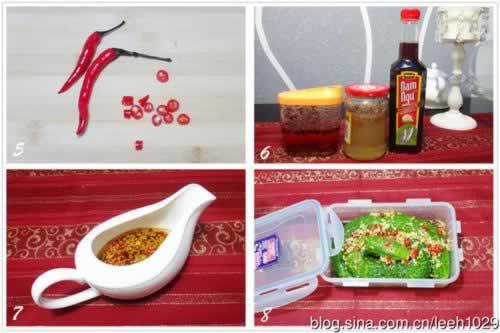 蓑衣黄瓜&酸辣蕨根粉的做法