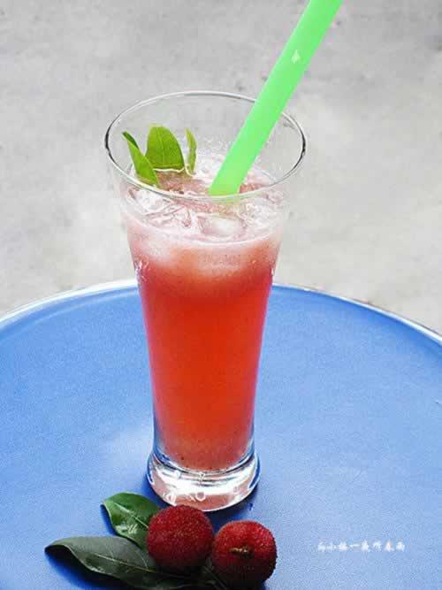 夏日超炫冰爽杨梅果汁的做法,怎么做,如何做,图解详细步骤