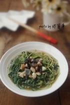 上汤绿豆苗的做法