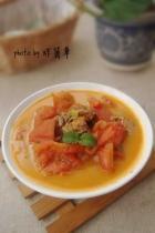 沙茶番茄炖牡蛎的做法