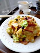 香辣培根圆白菜的做法