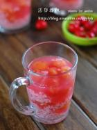 酒酿樱桃的做法