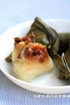 葡萄干桂圆粽子的做法