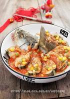 茄汁蒸鲈鱼的做法