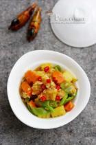 咖喱鳕鱼杂蔬煲的做法