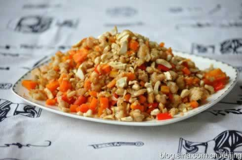 十全营养炒鱼松的做法