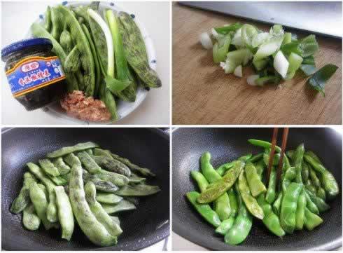 橄榄菜肉沫烧豆角的做法,怎么做,如何做好吃,图解详细步骤 www.027eat.com