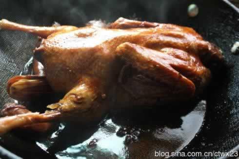 本帮酱鸭的做法