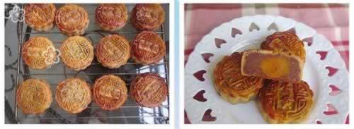 木糖醇广式莲蓉月饼的做法