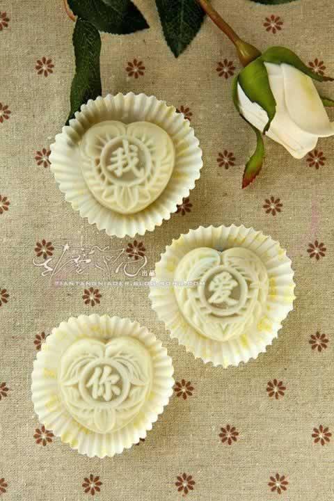 板栗冰皮月饼的做法