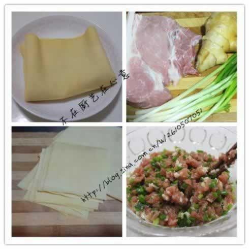 千张包汤的做法,怎么做,如何做好吃,图解详细步骤 www.027eat.com