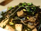 凉拌冻豆腐海带丝的做法