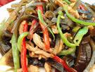 蚝油肉丝炒海带的做法