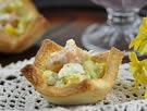 鲜虾土司沙拉的做法