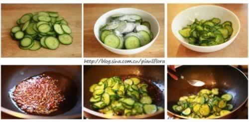 香脆炒黄瓜的做法