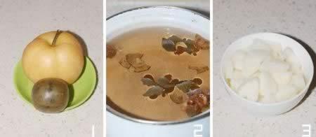 梨汁罗汉果的做法