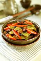 干煸豆豉扁豆的做法