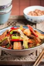 京葱回锅肉的做法