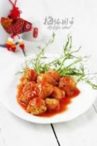 茄汁素丸子的做法