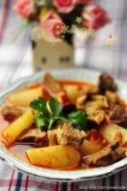 川味红油萝卜炖牛腩的做法