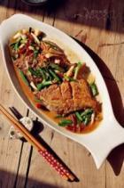青蒜鲳鱼的做法