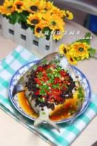 豆豉剁椒蒸鲳鱼的做法
