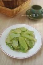蒜蓉芥兰片的做法