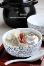 牛蒡山药排骨汤的做法