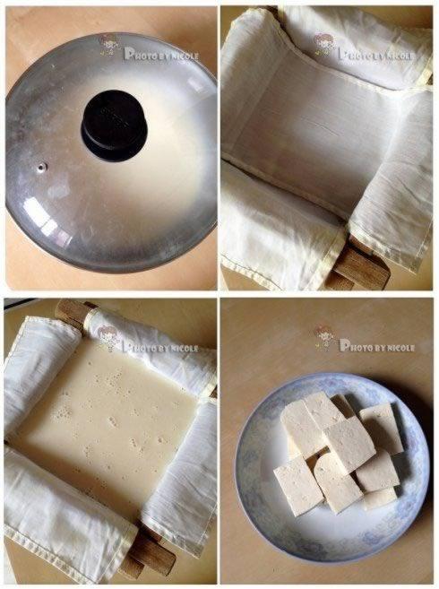 非传统石磨豆腐的做法